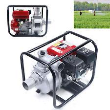Gasoline Water Pump 75 Hp 3 Portable Gas Powered Semi Trash Water Pump