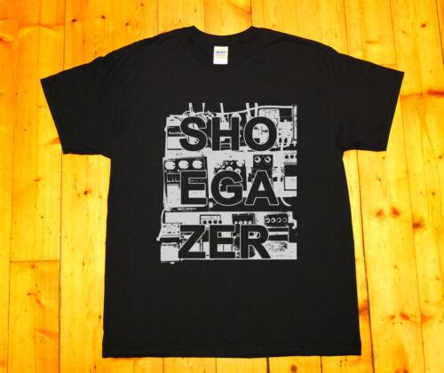 MBV RIDE,Lush men/'s T-SHIRT Shoegaze SHOEGAZER GUITAR EFFECT PEDAL BOARD