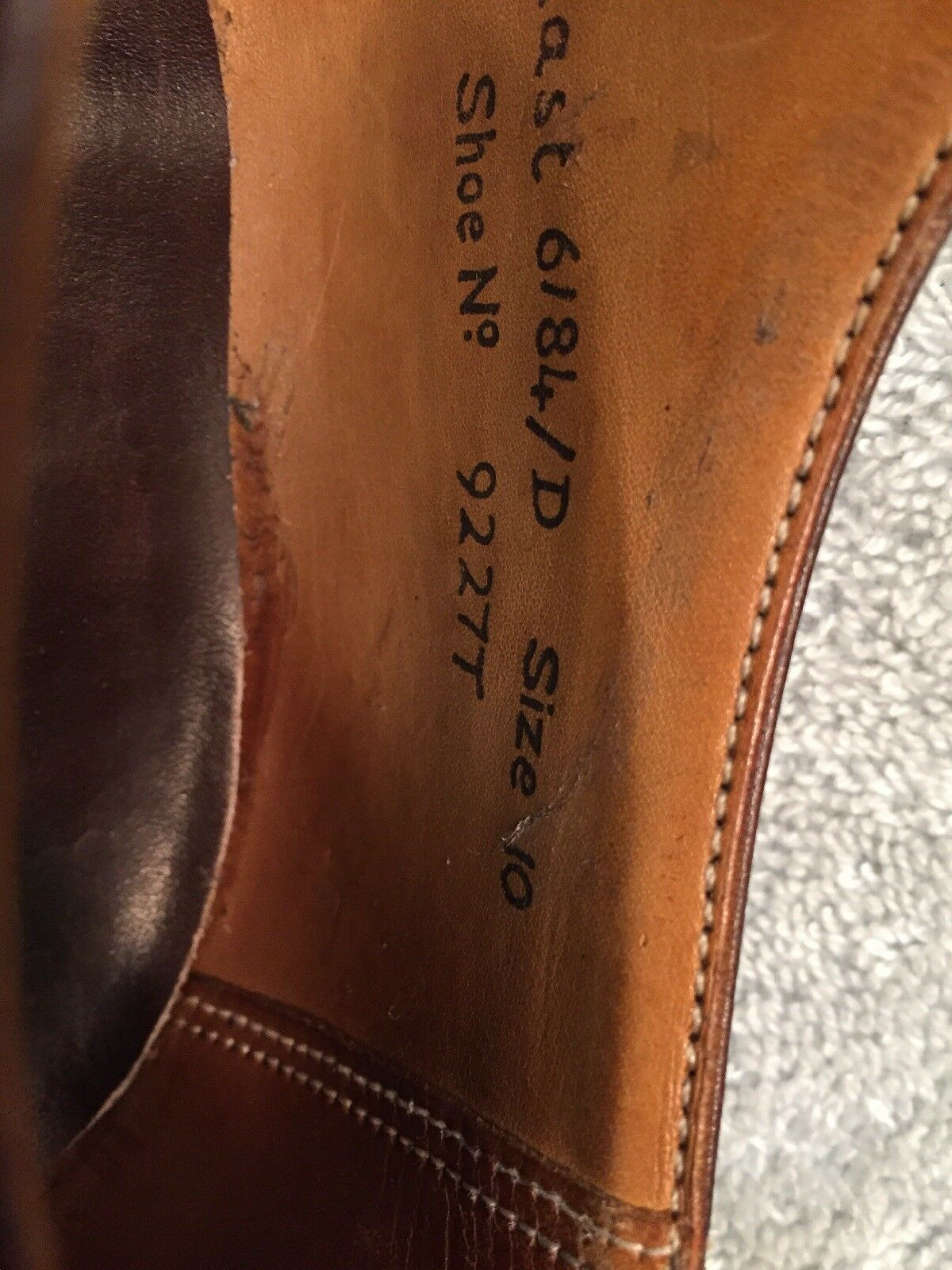 Royal Tweed  Marroneee Wingtip Premium Grade Oxford Dress Dress Dress scarpe Mens 6184 D Dimensione 10 e9b592