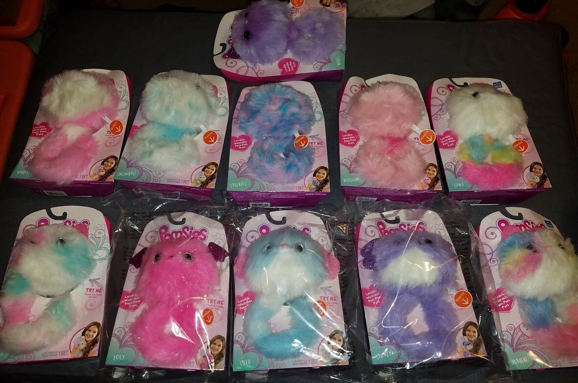 NEW 11 Pomsies Hot Toys 2018 Luna, Syndney, Zoey, Sherbert etc. FREE SHIPPING