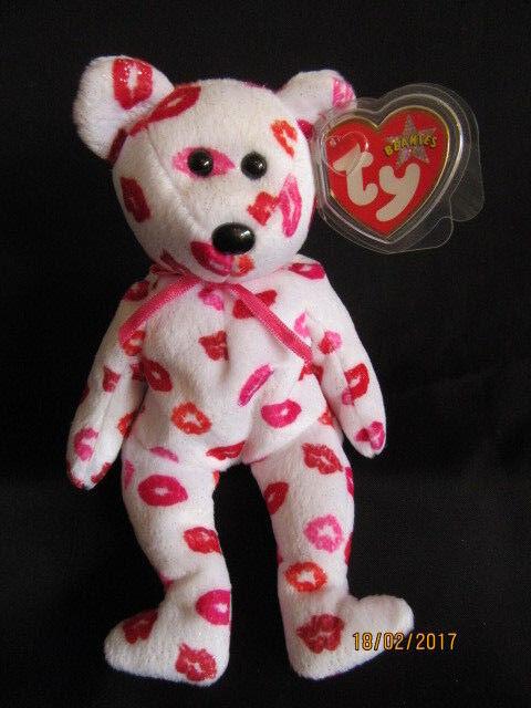 Ty Kissy The Bear Beanie Baby for sale online  51aecc9bb4c