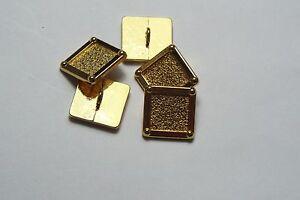 8pc 20mm oro viejo Metal Estilo Alemán Militar Chaqueta de Abrigo Cárdigan Botón 2863
