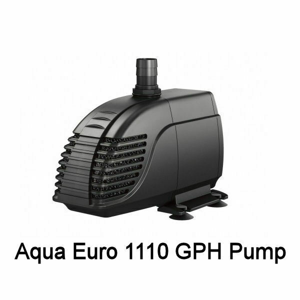 AQUA EURO USA 1110 GPH SUBMERSIBLE WATER PUMP - UL LISTED - NEW - FREE SHIPPING