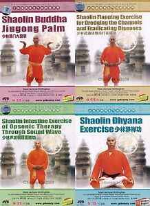 Shao Lin Kungfu Series - Shaolin Health Preserving Qigong Complete Set 4DVDs