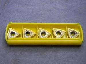 10 Stück Kennametal Wendeschneidplatten CCMT09T302FP #46