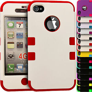 Shock-Proof-Hybrid-Hard-amp-Soft-Builder-Silicone-Cover-Case-for-Apple-iPhone-5-5s