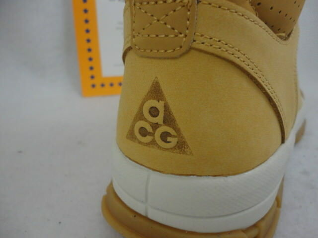 Nike air nevist 6, acg stiefel, heuhaufen / heuhaufen, 454402 772, größe 9.