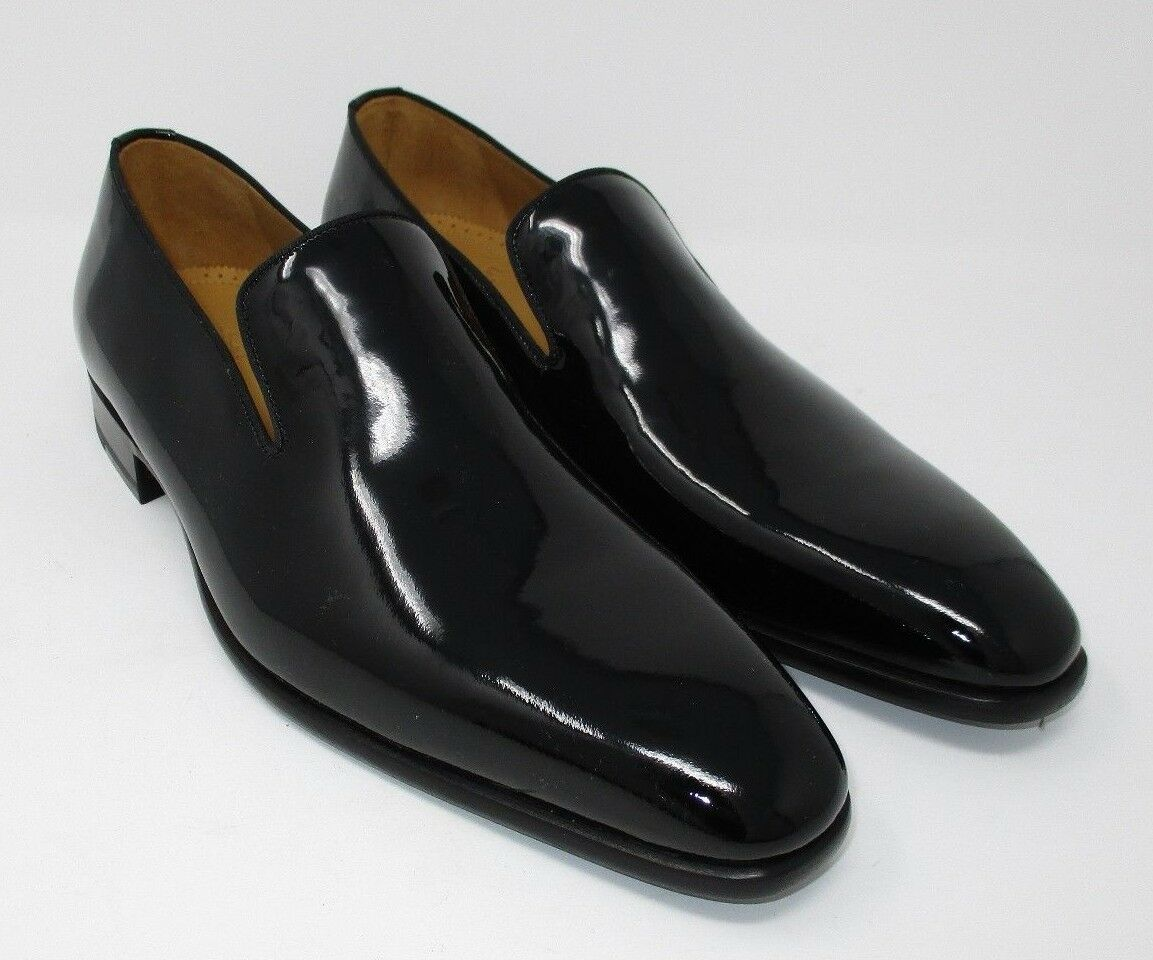 Paul Stuart Patent Leather Loafers size 7.5 US (10130-1) 134