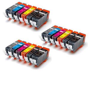 18P-Printer-Ink-Cartridges-GRAY-for-PGI-225-CLI-226-CANON-Pixma-MG6120-MG8120