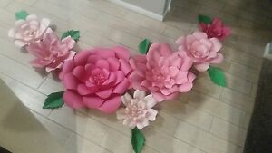 7 large paper flowers ebay image is loading 7 large paper flowers mightylinksfo