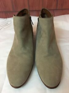 Sam-Edelman-Petty-Suede-Chelsea-Boot-Booties-Size-10