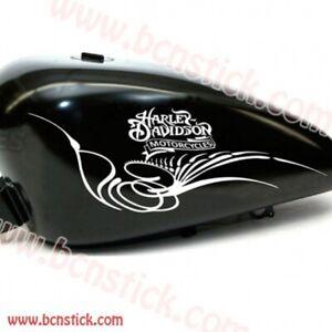 2x-pegatinas-adhesivo-de-vinilo-Harley-Davidson-motorcycles-deposito