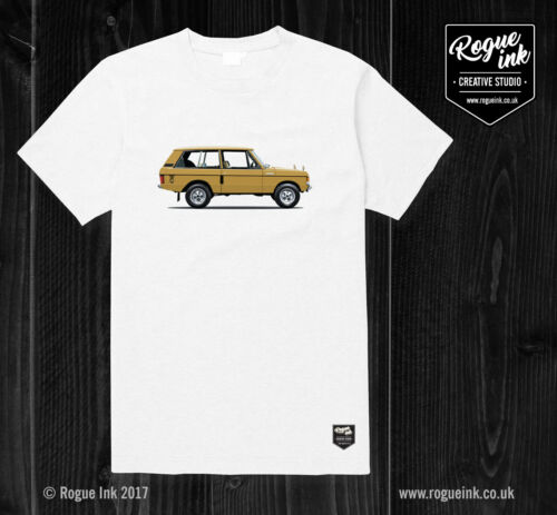 Range Rover Classic T-Shirt Illustration 100/% Cotton