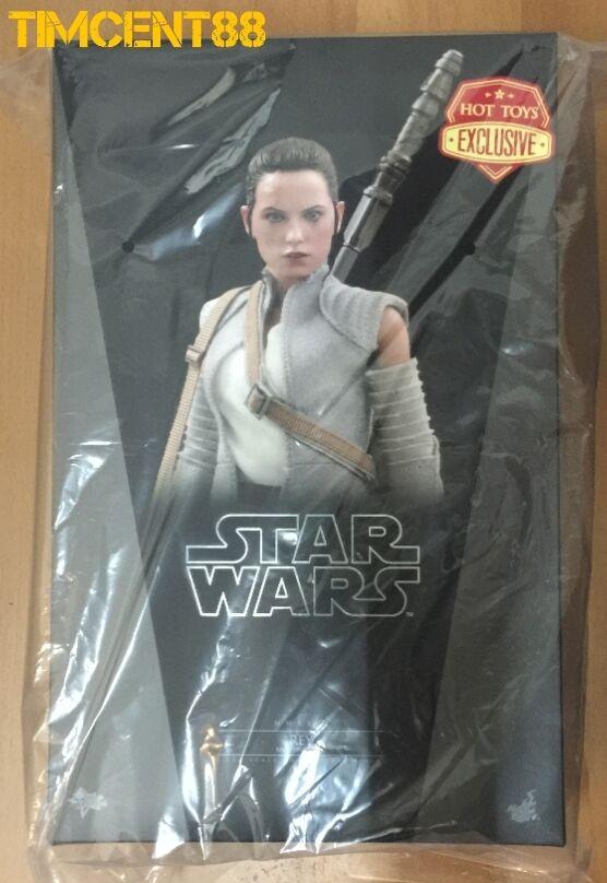 listo Hot Toys MMS377 Star Wars The Force despierta 16 Rey Traje de resistencia