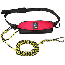 NEW Kayak Drift Anchor Tow Rope Tow Line 9.1m 30ft Nylon Rope Steel Clips T7Y7