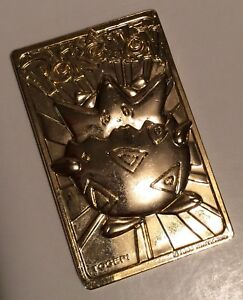 Brand New RARE Limited Edition Mewtwo Pokemon 23k Gold Plated Trading Card