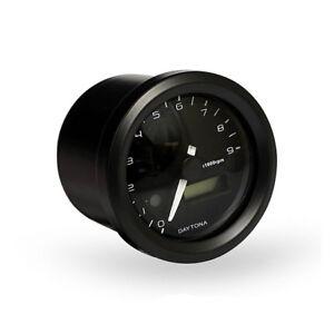 velona-drehzahlmesser-48mm-Schwarz-15000RPM-fuer-Harley-Davidson