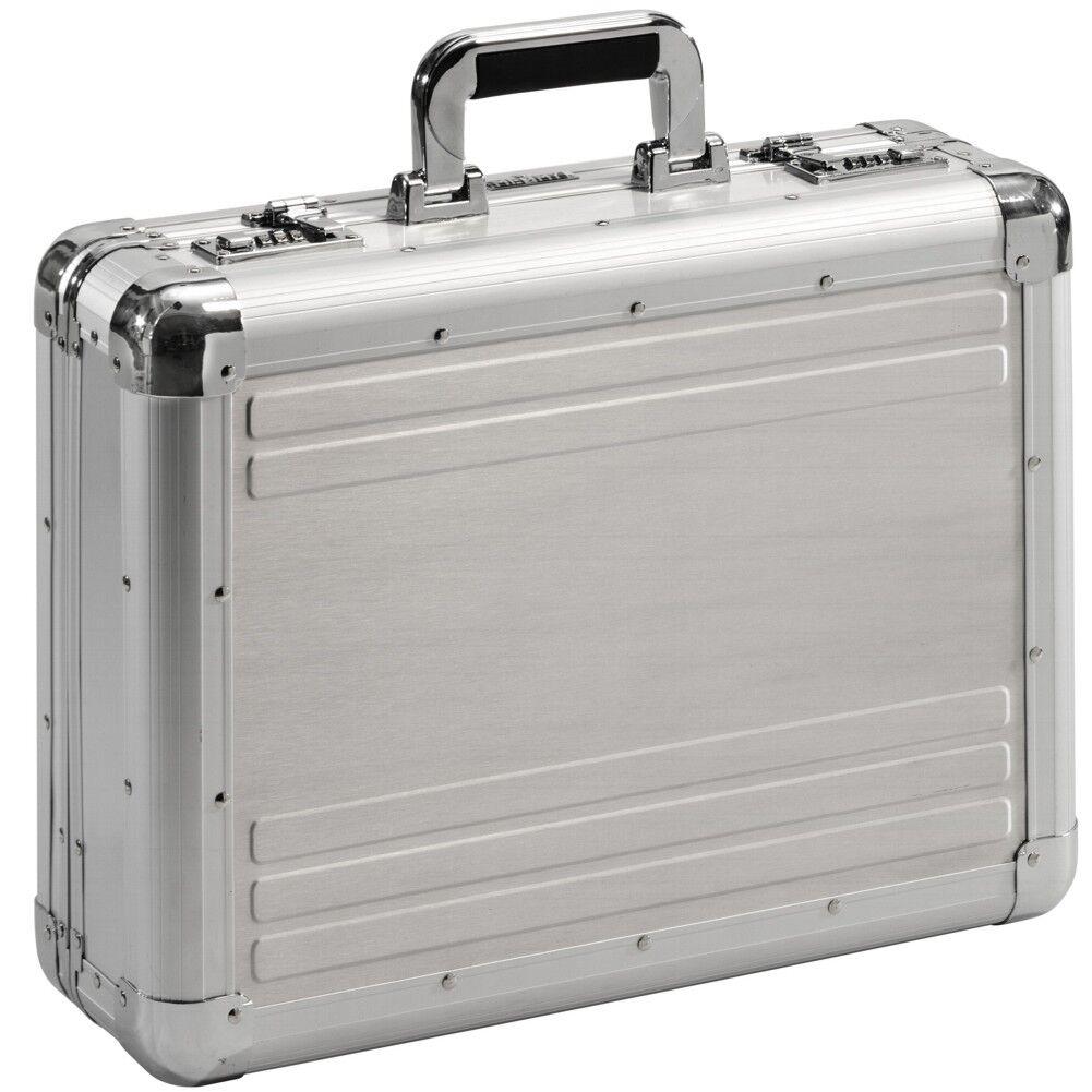 Aktenkoffer Aluminium Attaché-Koffer Diplomatenkoffer mit Zahlenschloss XL