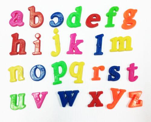 26pcs Plastic Alphabet Letters Baby Toys Kids Fridge Magnet  Educational Toy ME