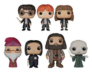 Harry Potter Pop Vinyl Figures Harry Ron Hermione