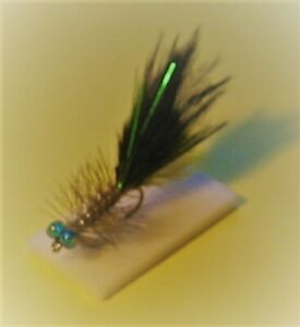 4 X Scotflytyer Bleu-vert Royal Kingfisher Damsel Nymphes-afficher Le Titre D'origine