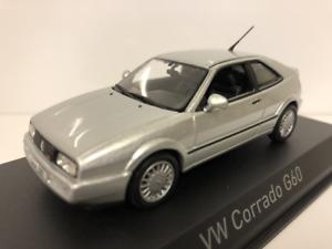 VW Corrado G60 1990 argento 1 43 Escala Norev 840096