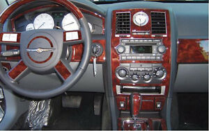 Chrysler 300 300c 2 7l 3 5l hemi interior wood dash trim - 2007 chrysler 300 custom interior ...