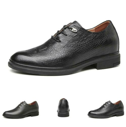 Details about  /Mens Work Oxfords Lace up Pointy Toe Casual Dress Formal Business Leather Shoes