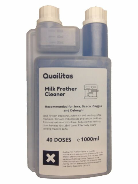 Milk Cleaner Fluid, 1 Litre for all coffe mashine Made in Germany