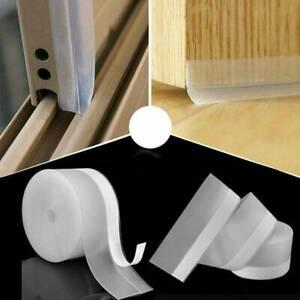 Door Window Bottom Rubber Seal Strip Sweep Weather Frameless Self Adhesive Hot