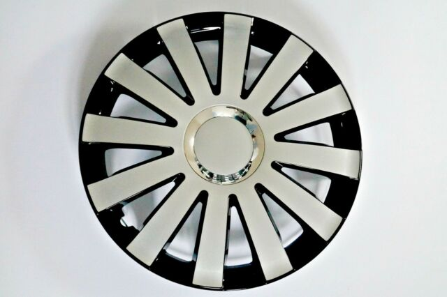 "SET OF 4 15"" UNIVERSAL WHEEL TRIMS COVER,RIMS,HUB,CAPS TO FIT AUDI +GIFT #D"