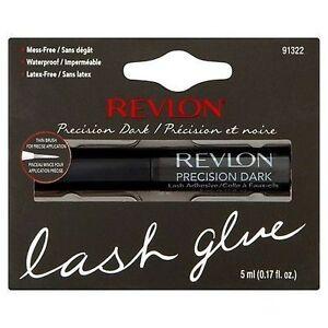 Revlon-PRECISION-LASH-ADHESIVE-DARK-False-Fake-Eyelash-Glue-Brush-On-Lashes