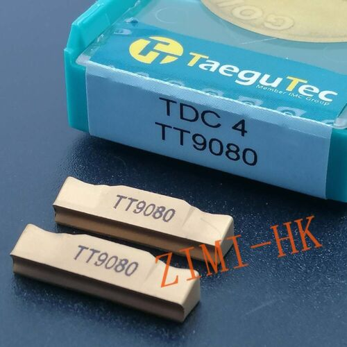 10Pcs TDC4 TT9080  4mm wide CNC lathe insert cutting tool carbide turning blade