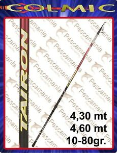 Canna-Colmic-TAIRON-Telematch-gr-10-80-4-30-4-60-Pro-Force-Carbon