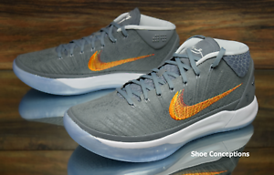 Nike Kobe AD Chrome Gray 922482-005 Basketball Shoes Men's - Multi Size