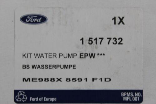 1,8 Original de bomba de agua 1,6 2,0 16v Ford Focus-Mondeo-Cougar 1517732