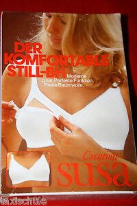 Besorgt Q Susa 70er Jahre Still Bh 90 B C Weiß Baumwolle Büstenhalter Cups Abnehmbar Freigabepreis Vintage-mode Sonstige