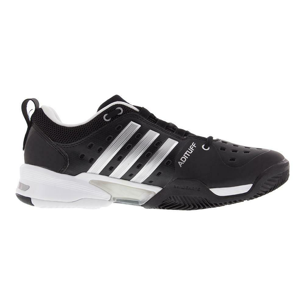 Adidas Barricade Classic Wide Tennis shoes Size 12.5 4E Black White
