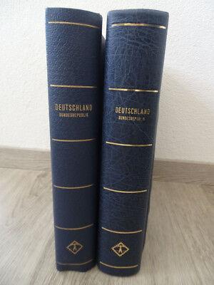 FäHig Bund 1949/2002, Gest. Slg. In 2 Leuchtturm-vordrucken, Viele Bogenecken !!! Rabatte Verkauf