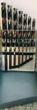 15 Pc Lastcut Black Gold Jobber Drill Bit Set 116 To 12 Huot Case 135 Sp