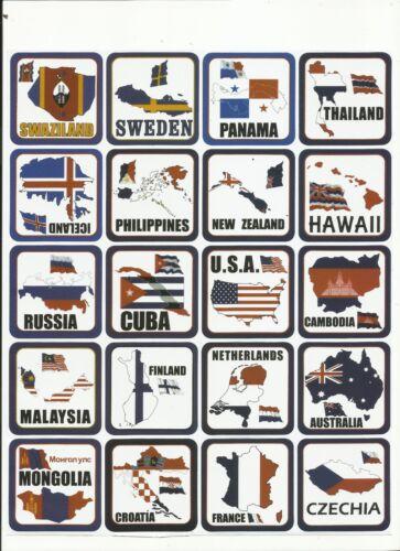 """valise Stickerbomb Sticker autocollant Set /""""plaisir avec drapeaux 1/"""" Ordinateur portable"""