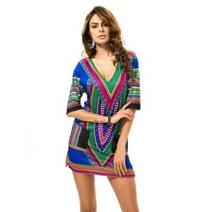 e48d4d89bb Details about Beach Outings Cover up Robe Plage Kaftan Dress Pareos For  Women Beach Tunic