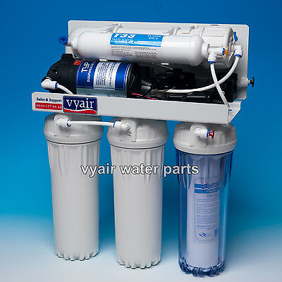 Domestic Water Purification Reverse Osmosis Filter,Vyair RO-1,plus spare filters