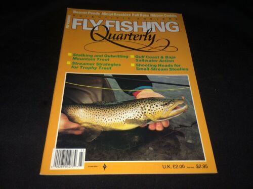 Steelhead Fall 1992 Fly Fishing Quarterly Magazine VTG Scientific Anglers~Trout
