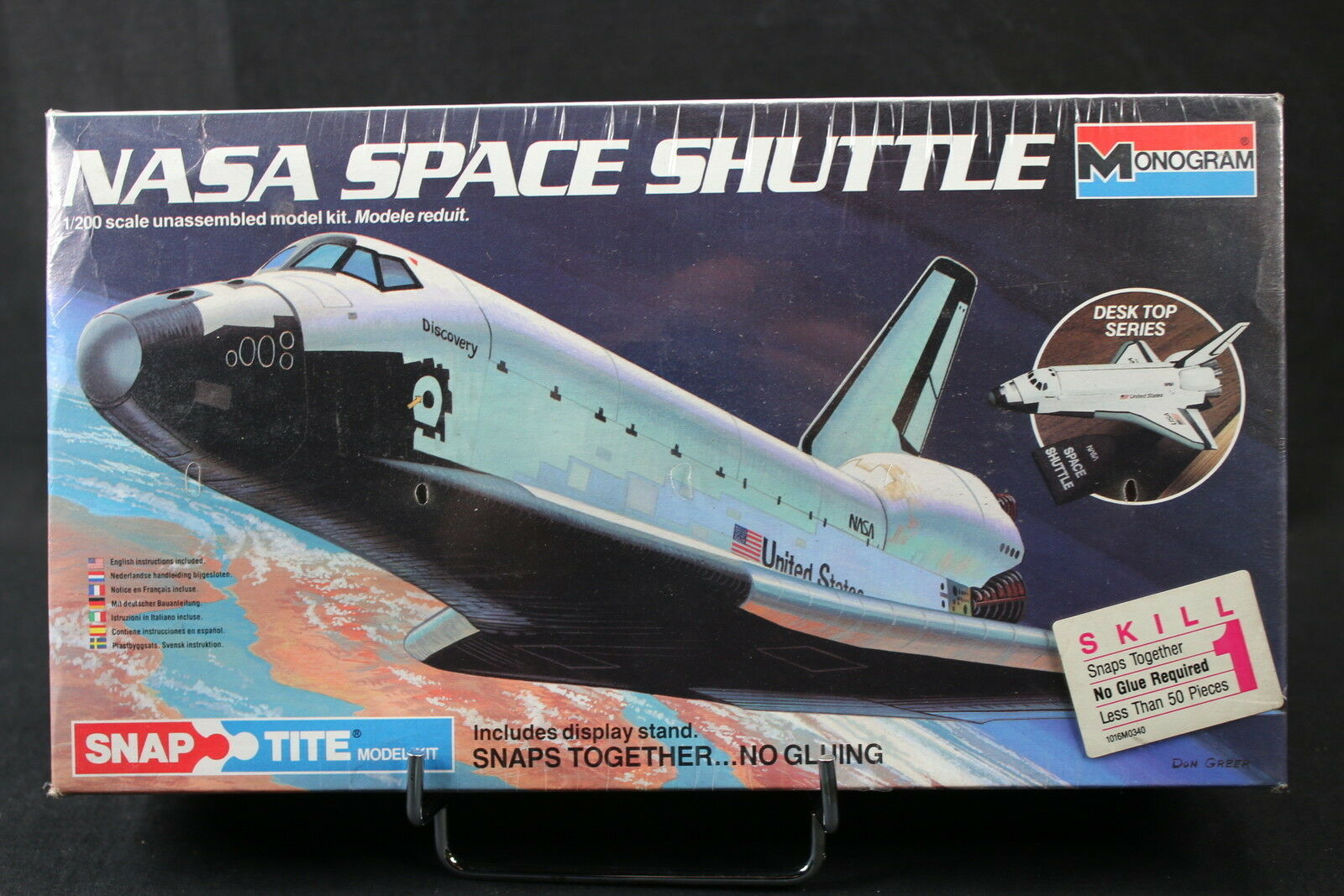 200 1 MONOGRAM YH032 maquette discovery Shuttle Space Nasa
