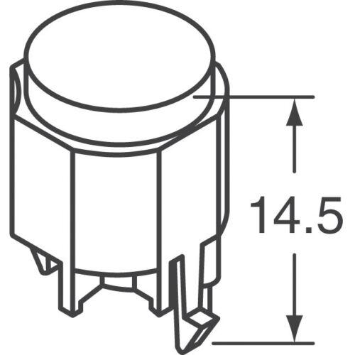 K12GO SWITCH PUSHBUTTON SPDT 0.1A 30V 5pcs