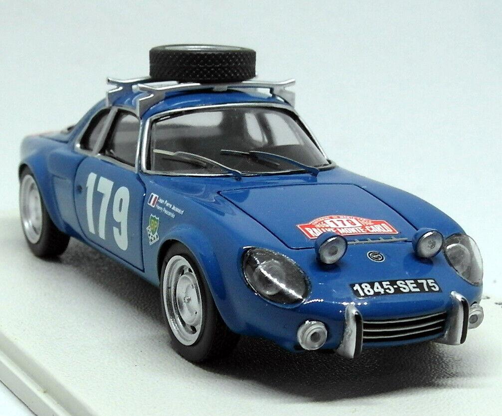 Bizzarro  SCALA BZ308 MATRA DJET 55 Monte Carlo Rally 1966 Auto modello in resina