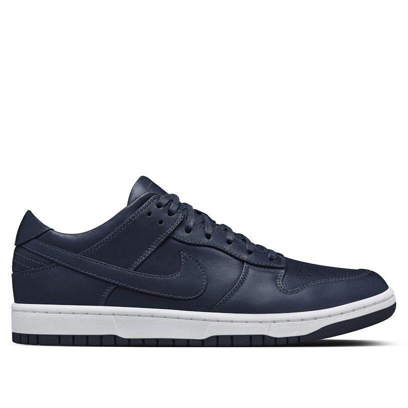 Nike NikeLab Dunk Lux Low Obsidian Navy White 857587-400 New Men's Multi Size