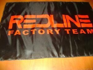 Redline Logo 20x30 Flag Banner Show Garage Racing Vintage Bmx Flag 600 Clx Old Ebay