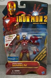Marvel-Legends-Walmart-Exclusive-Iron-Man-2-Mark-4-Unmasked-Tony-Movie-6-034-Figure